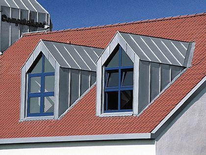 Bauflaschnerei - Metall am Haus