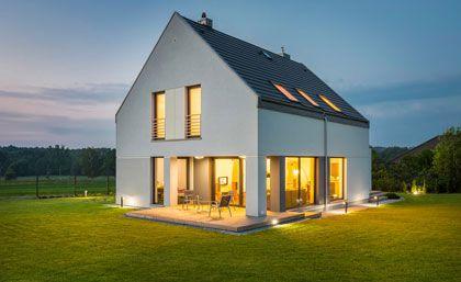 Komplette Beleuchtung eines Hauses